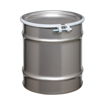 Stainless Steel Drum, 20 gallon, Open Head