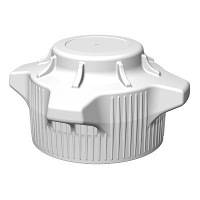 VersaCap® Screw Cap, 120mm, Standard Closed Top Cap, pack/2