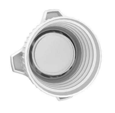 EZWaste® 53B VersaCap® EZ-Top, Open Top VersaCap® with Closed Adapter