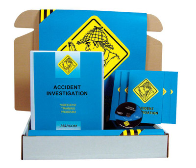 Safety Training: Accident Investigation Safety Meeting Kit