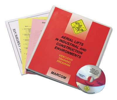 Safety Training: Aerial Lifts in Industrial, Construction Compliance DVD Program