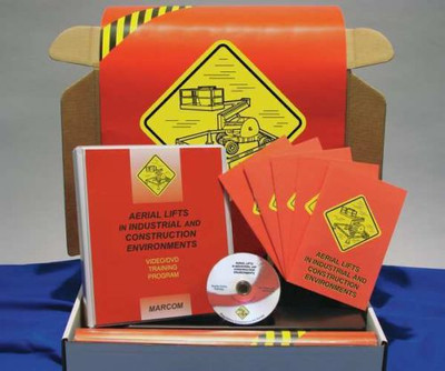 Safety Training: Aerial Lifts in Industrial, Construction Compliance Kit
