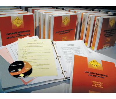Safety Training: All 23 HAZWOPER Series DVD Programs