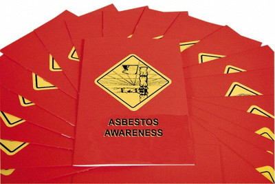 Safety Training: Asbestos Awareness Booklet, pack/15
