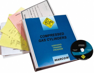 Safety Training: Compressed Gas Cylinders DVD Program
