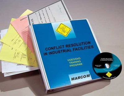 Safety Training: Conflict Resolution in Industrial Facilities DVD Program