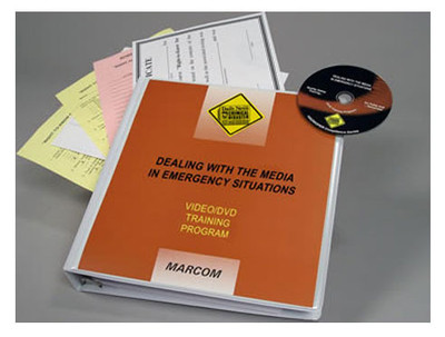 Safety Training: Dealing with The Media In Emergency Situations DVD Program