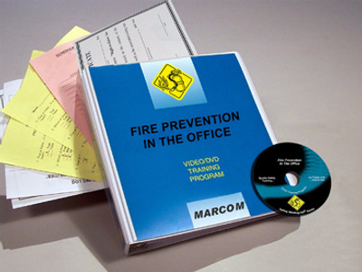 Safety Training: Fire Prevention in the Office DVD Program