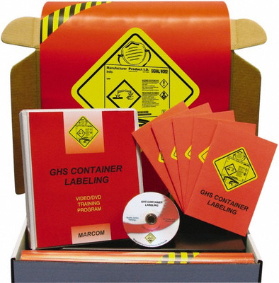 Safety Training: GHS Container Labeling Regulatory Compliance Kit