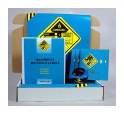 Safety Training: Hazardous Materials Labels Safety Meeting Kit