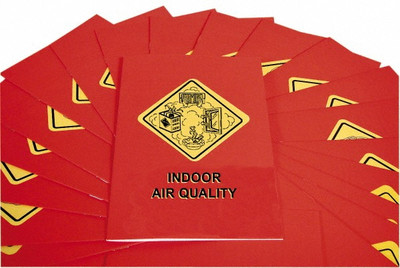 Safety Training: Indoor Air Quality Booklet, pack/15