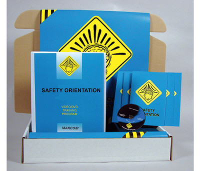 Safety Training: Safety Orientation Safety Meeting Kit