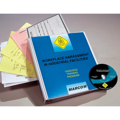 Safety Training: Workplace Harassment in Industrial Facilities DVD Program