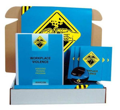 Safety Training: Workplace Violence Safety Meeting Kit