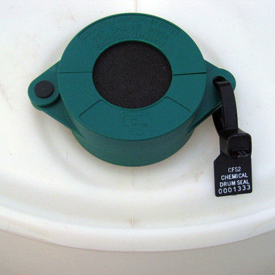 Lock-Out Tag-Out Drum Lock Safety Clamp with Solid Filter