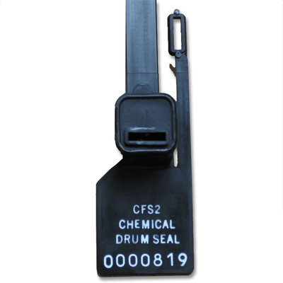 Chemical Drum Seal Tags, Lock Out Tag Out, pack/10