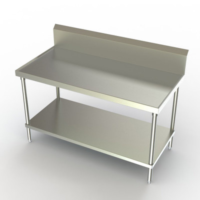 """This Aerospec version features recessed top and V-edges to contain spills. Shown 24""""  x 48"""""""