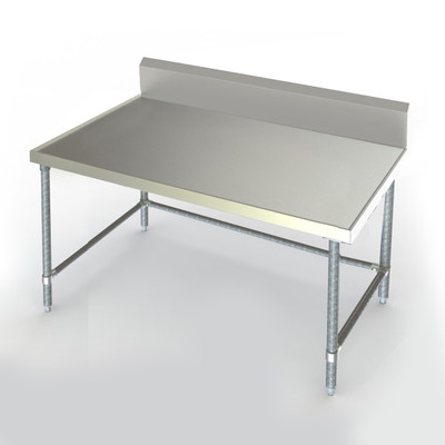 "This Aerospec version features recessed top and V-edges to contain spills. Shown 24""  x 48"""