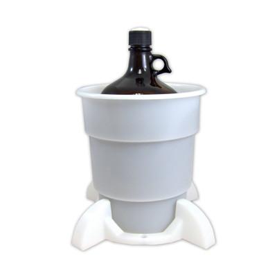 Port Cap System, 4L Glass Bottle, 38mm Port Cap, Secondary Container