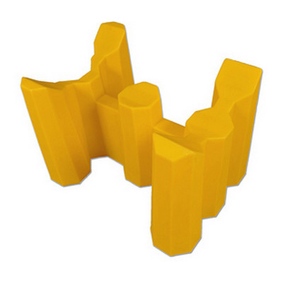 Single Drum Support Rack, P1, Polyethylene, for Horizontal Drum Storage