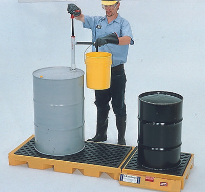 Spill Deck, In-line 3 Drum Model