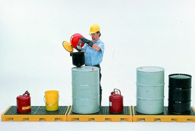 Spill Deck, In-line 6-Drum Model