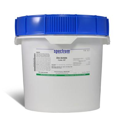 Zinc Acetate, Crystal, USP, 12kg, Each
