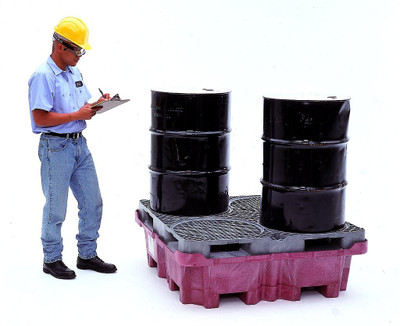 spill King with Drum Pallet, No Drain