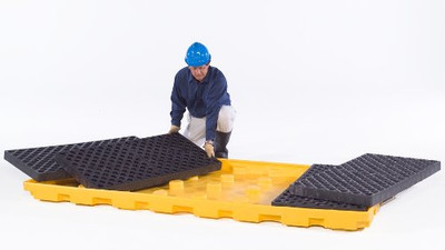 Spill Deck P8 System-(2) 4-Drum Modules