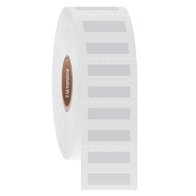 """ParafiTAG - Xylene Resistant Labels for Paraffin Wax Blocks, White, 0.75"""" x 0.2"""", 5000 labels/roll"""