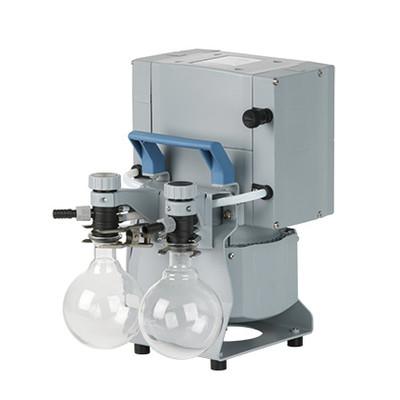 Oil-Free Chemistry Diaphragm Pump, MD 4C NT +2AK, 1.5 mbar, 1.1 torr, 2.2 cfm