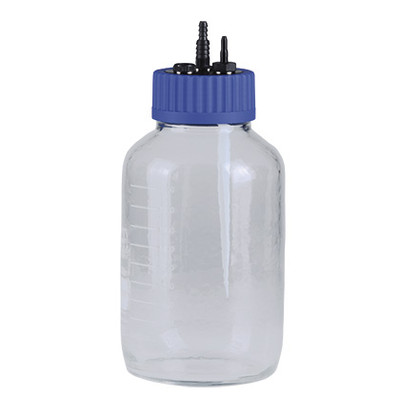 Collection Bottle, Glass Coated, Sterile Filter and Inlet Tube