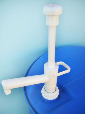 30 and 55 gallon Drum Pump, PP, 13.5 oz/stroke