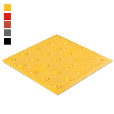 ADA Tile, 1 x 1 Detectable Warning Mat, Retrofit Model