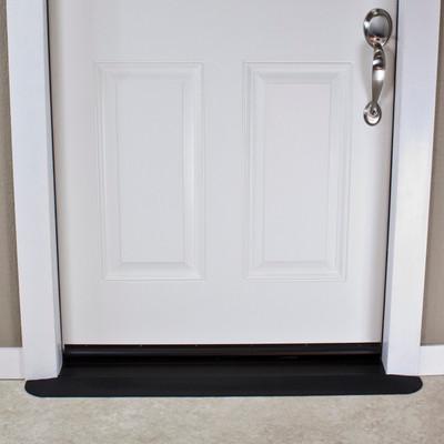 "Threshold Wheelchair Ramp, EZ-Edge, 1/2"" High, Single or Double Door"