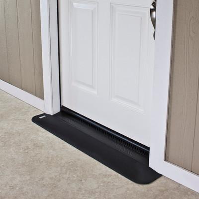 "Threshold Wheelchair Ramp, EZ-Edge, 3/4"" High, Single or Double Door"