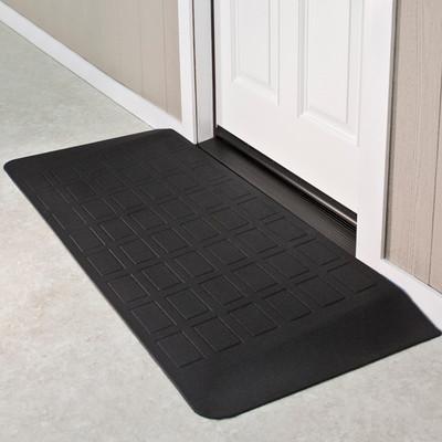 "Threshold Wheelchair Ramp, EZ-Edge, 2"" High, Single or Double Door"
