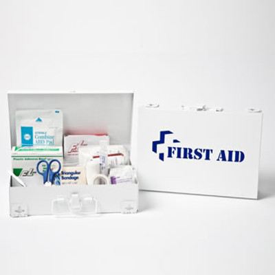 First Aid Kit in Steel Case, Case/12