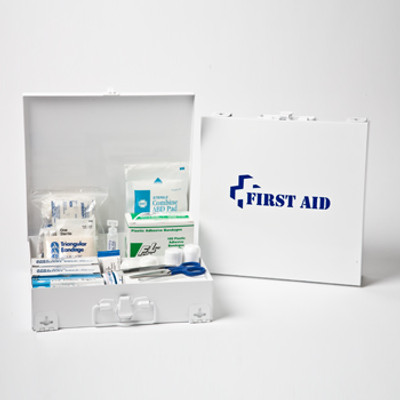 Large First Aid Kit in Steel Case, Case/6