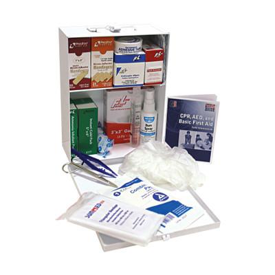 Medium Office First Aid Kit in Steel Case