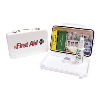 ProStat First Aid 0659 Small First Aid Kit in Plastic Box, Case/12
