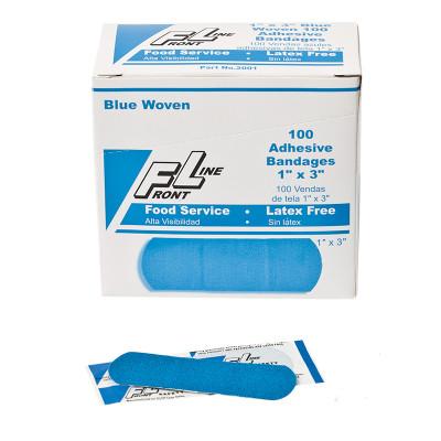 ProStat 2001  Bandage Blue Woven 1 in. x 3 in. Bandage, Case/12