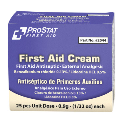 Antiseptic and Analgesic 0.9gm Cream, Case/72