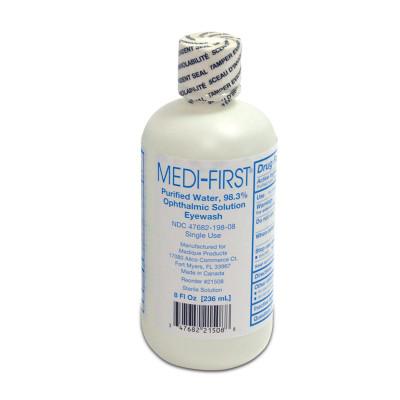 Eye Wash 8 Oz Bottle, Case/24