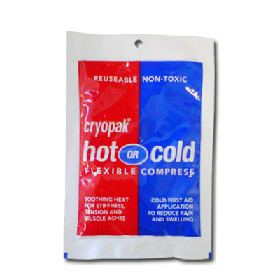 """Hot/Cold Pack 4"""" x 6"""" Reusable, Case/40"""