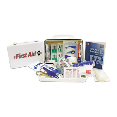Office First Aid Kit in Plastic Case