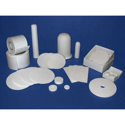 Binderless Glass Microfiber Filter Media, TCLP Grade Acid Treated, pack/100