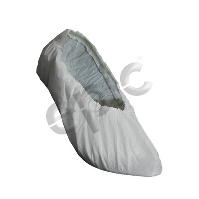 Disposable PE/Latex Shoe Covers, White, case/300