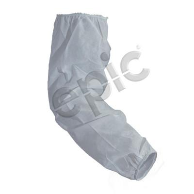 """Disposable Polypropylene Sleeve, 18"""", White, case/200"""