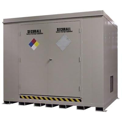 HazMat Drum Storage Building with Optional Fire Rating, 16-Drum